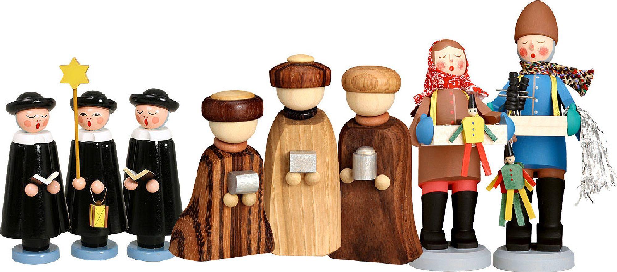Holzfiguren Winter