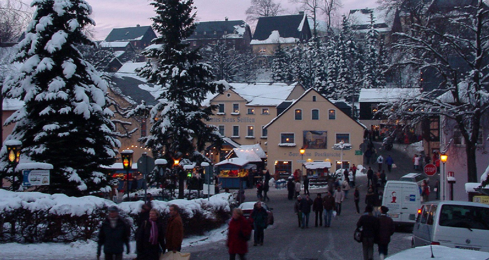 Weihnachtsmarkt Seiffen