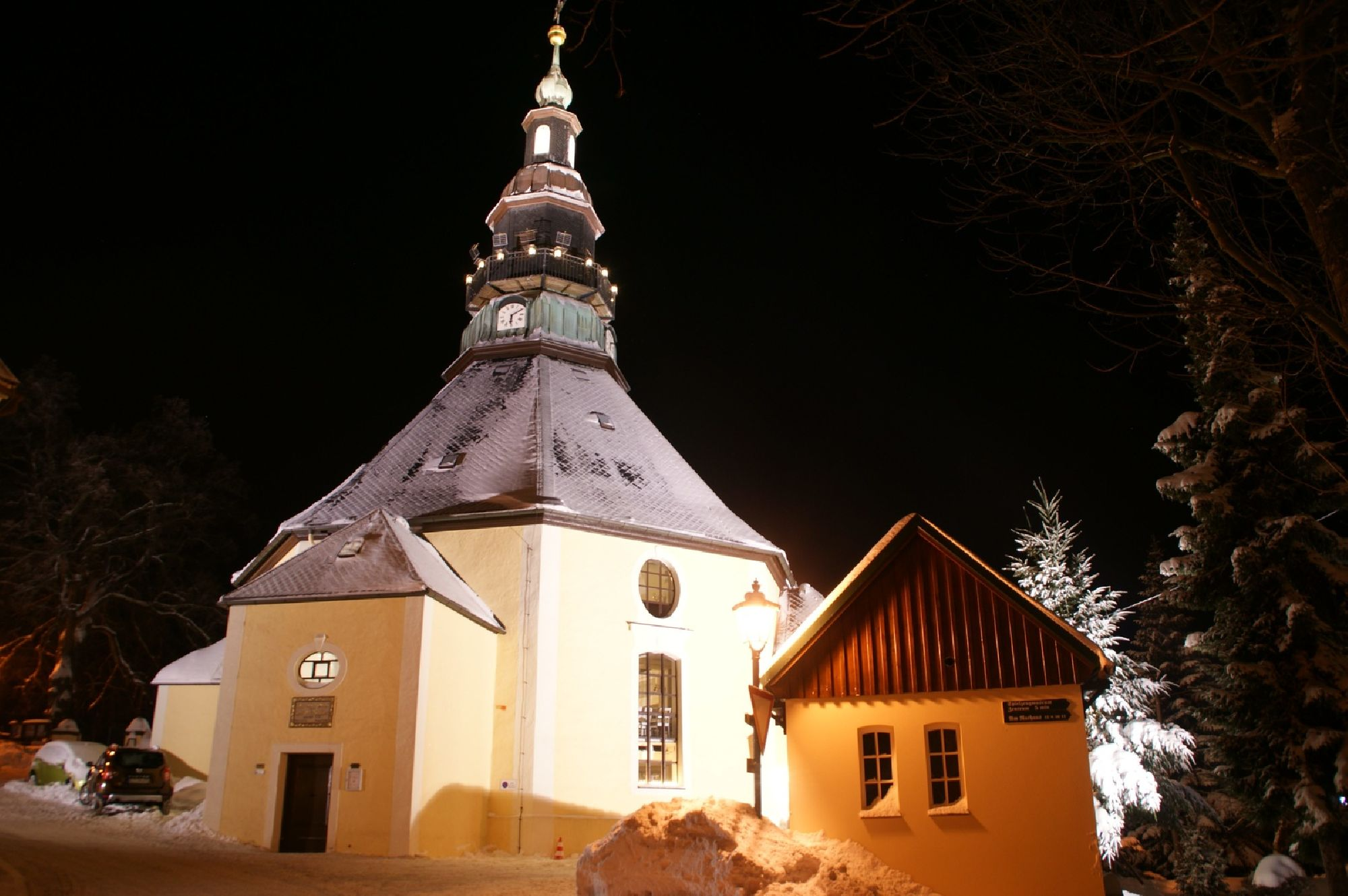 Pauschalangebot Seiffner Kirche