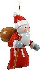 Baumbehang Weihnachtsmann 3-teilig