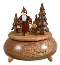 Weihnachtsmann mit Schlitten, Melodie O Du Fröhliche